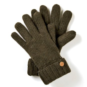 Craghoppers Riber Glove - Woodland Green