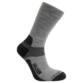 Craghoppers Mens Walking Sock Grey Ash Black