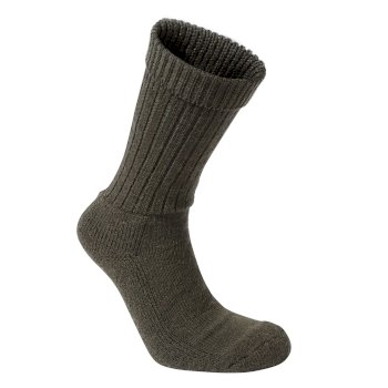 Craghoppers Mens Wool Hiker Sock - Woodland Green Marl