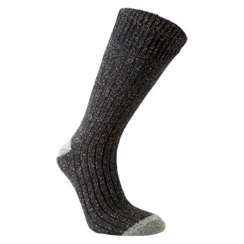 Craghoppers Glencoe Walking Sock - Dark Grey Marl