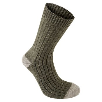 Craghoppers Glencoe Walking Socks - Dark Moss Marl