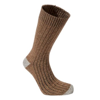 Craghoppers Glencoe Walking Socks - Ibex Brown