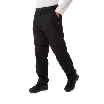 Craghoppers Kiwi Convertible Trousers - Black