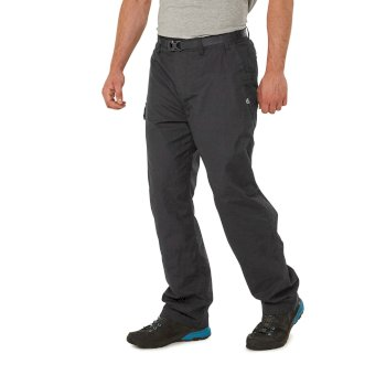 Craghoppers Kiwi Winter Lined Trousers - Black Pepper