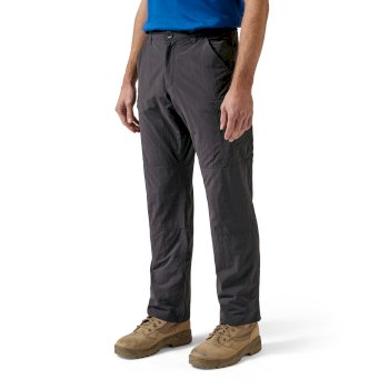 Craghoppers NosiLife Cargo Trousers - Black Pepper