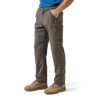 Craghoppers NosiLife Convertible Trousers - Bark