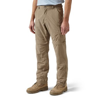 Craghoppers NosiLife Convertible Trousers - Pebble