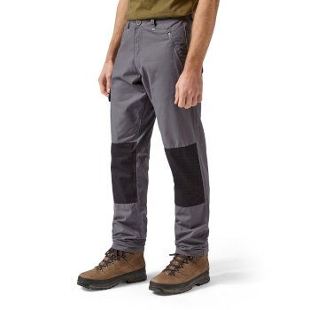 Craghoppers Traverse Trouser - Elephant / Black Pepper