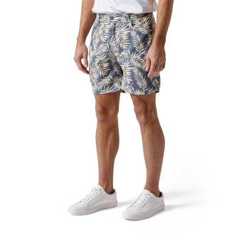 Craghoppers Whitehaven Shorts - Ocean Blue Print