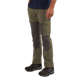 Craghoppers NosiLife Pro Adventure Trousers - Mid Khaki / Black Pepper