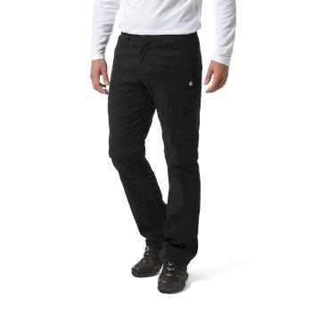 Craghoppers Kiwi Pro II Convertible Trousers - Black