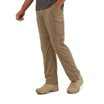 Craghoppers NosiLife Convertible II Trousers - Pebble