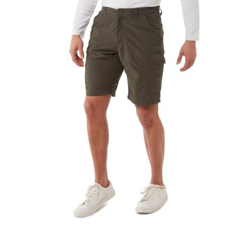 Craghoppers NosiLife Cargo II Shorts - Woodland Green