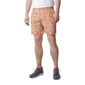 Craghoppers Vinci Shorts - Red Ochre Print