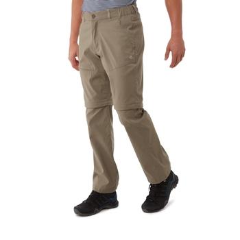 Craghoppers Kiwi Pro II Convertible Trousers - Pebble