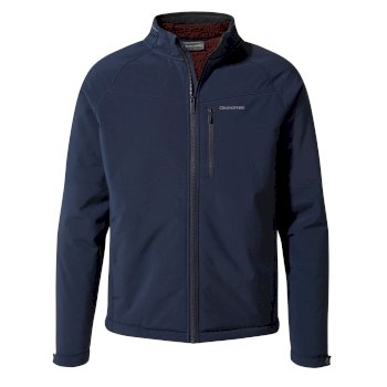 Craghoppers Roag Softshell Jacket Blue Navy