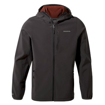 Craghoppers Baird Hooded Jacket - Black Pepper