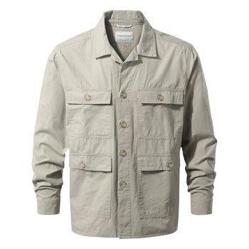 Bridport Shirt Jacket Sandstone