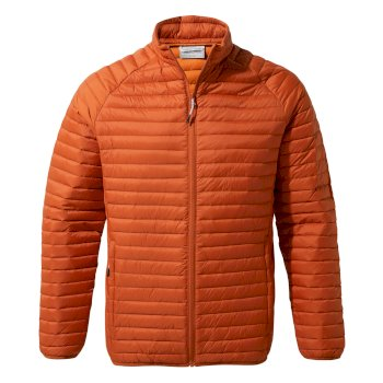 Craghoppers Venta Lite II Jacket - Burnt Whisky / Terracotta