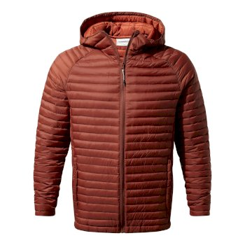 Craghoppers Venta Lite Hooded Jacket Burnt Umber