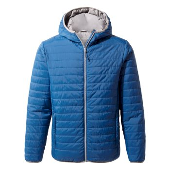 Craghoppers Compresslite III Hooded Jacket Deep Blue