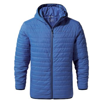 Craghoppers Compresslite III Hooded Jacket - Delft Blue