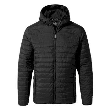 Craghoppers Compresslite III Hooded Jacket - Black