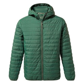 Craghoppers Compresslite III Hooded Jacket - Mountain Green