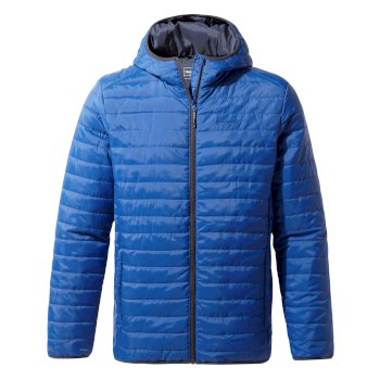 Craghoppers Compresslite III Hooded Jacket - Deep Blue / Blue Navy