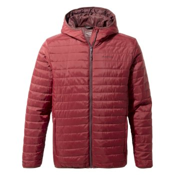 Craghoppers Compresslite III Hooded Jacket - Loganberry
