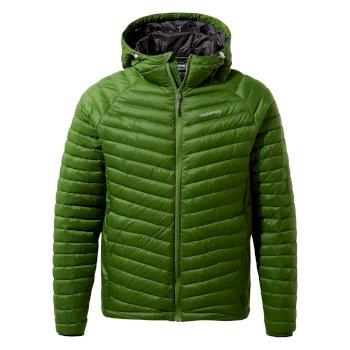Craghoppers Expolite Hooded Jacket - Dark Agave Green