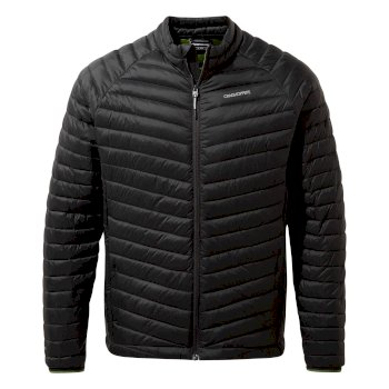 Craghoppers Expolite Jacket - Black Pepper / Dark Agave Green