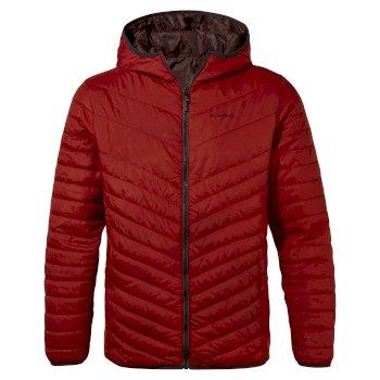 Craghoppers Compresslite V Hooded Jacket - Auburn
