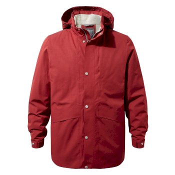 Craghoppers Axel Jacket Firth Red / Platinum / Black