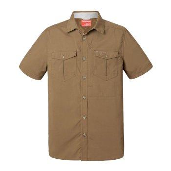 Craghoppers NosiLife Adventure Short Sleeved Shirt Kangaroo