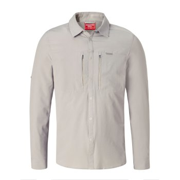 NosiLife ProII Long-Sleeved Shirt Parchment
