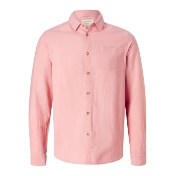 Craghoppers Porter Long-Sleeved Shirt Desert Pink