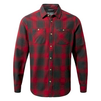 Craghoppers Machrie Long-Sleeved Shirt - Firth Red Check