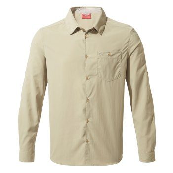 Craghoppers NosiLife Nuoro Long Sleeved Shirt - Rubble