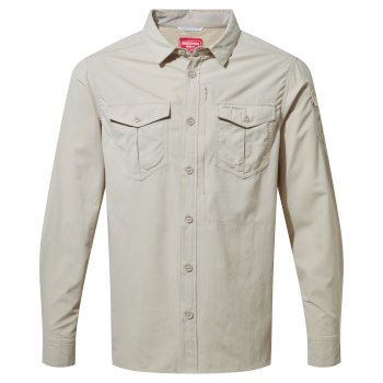 Craghoppers NosiLife Adventure II Long Sleeved Shirt  - Desert Sand