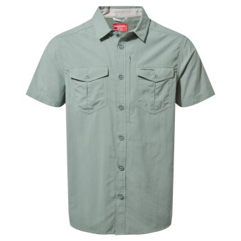 Craghoppers NosiLife Adventure II Short Sleeved Shirt  - Sage