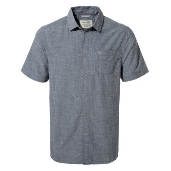 Craghoppers Broni Short-Sleeved Shirt - Ombre Blue