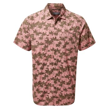 Craghoppers Carlos Short-Sleeved Shirt - Light Radicchio