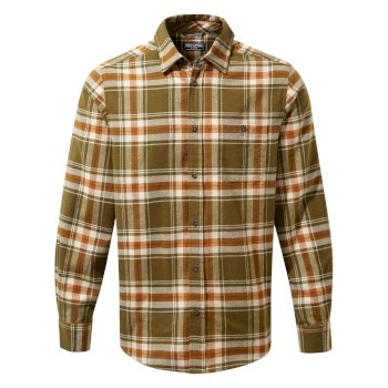 Craghoppers Wilmot Long Sleeved Shirt - Woodland Green Check