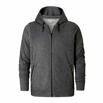 Craghoppers NosiLife Tilpa Hooded Jacket Black Pepper Marl