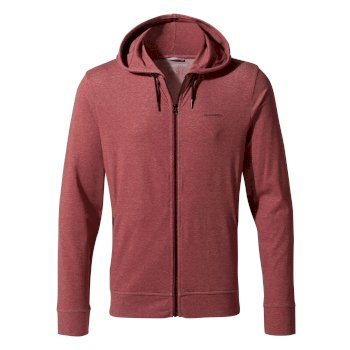 Craghoppers NosiLife Tilpa Hooded Jacket - Firth Red Marl