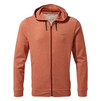 Craghoppers NosiLife Tilpa Hooded Jacket - Burnt Whisky Marl