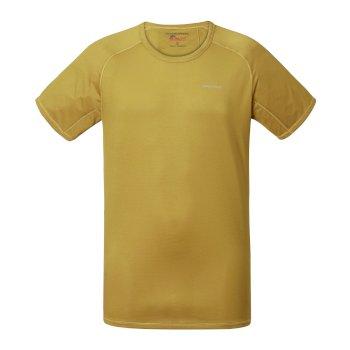 Craghoppers NosiLife Short Sleeved Baselayer Tee Levison Gold