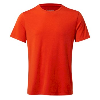 Craghoppers First Layer Short-Sleeved T-Shirt - Aster Red