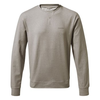 Craghoppers NosiLife Tilpa Crew Sweat - Soft Grey Marl